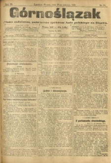 Górnoślązak, 1910, R. 9, Nr. 94