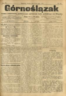 Górnoślązak, 1910, R. 9, Nr. 114
