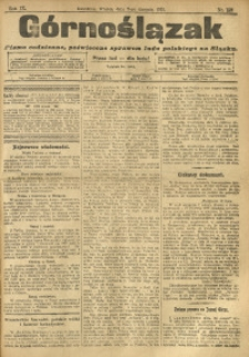 Górnoślązak, 1910, R. 9, Nr. 180