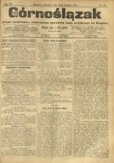 Górnoślązak, 1910, R. 9, Nr. 212