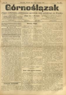 Górnoślązak, 1910, R. 9, Nr. 222