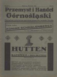 Przemysł i Handel Górnośląski, 1924, R.2, z. 6