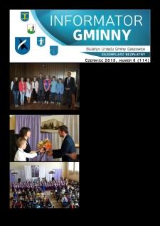 Informator Gminny - Gaszowice, 2015, nr6 (114)