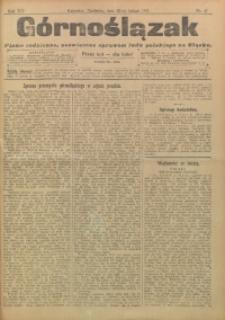 Górnoślązak, 1911, R. 12, Nr. 47