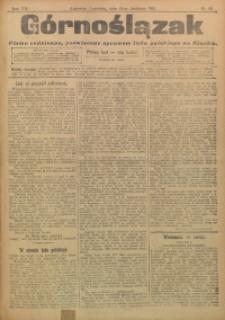 Górnoślązak, 1911, R. 12, Nr. 85
