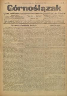 Górnoślązak, 1911, R. 12, Nr. 97