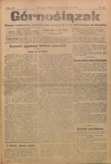Górnoślązak, 1911, R. 12, Nr. 191