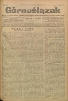 Górnoślązak, 1911, R. 12, Nr. 260