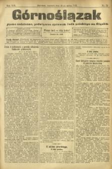 Górnoślązak, 1912, R. 13, Nr. 72
