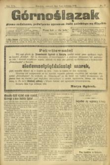 Górnoślązak, 1912, R. 13, Nr. 77