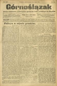 Górnoślązak, 1912, R. 13, Nr. 106