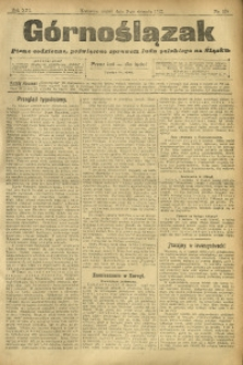 Górnoślązak, 1912, R. 13, Nr. 178