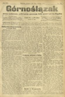 Górnoślązak, 1912, R. 13, Nr. 204