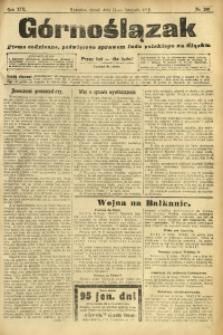 Górnoślązak, 1912, R. 13, Nr. 260