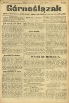 Górnoślązak, 1912, R. 13, Nr. 280