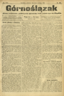 Górnoślązak, 1912, R. 13, Nr. 282