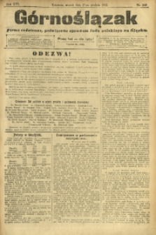 Górnoślązak, 1912, R. 13, Nr. 286