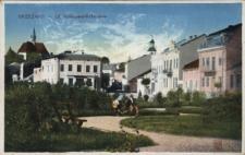 Brzeżany. Ulica Kolejowa, 1916 r.