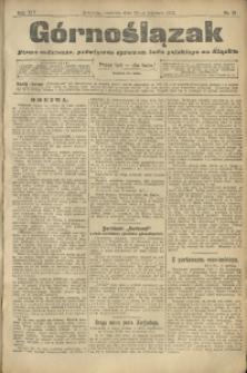 Górnoślązak, 1913, R. 14, Nr. 91