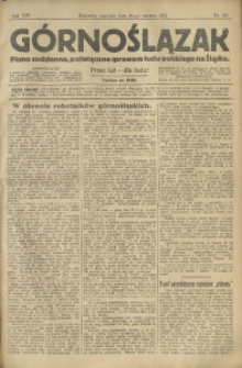 Górnoślązak, 1913, R. 14, Nr. 145