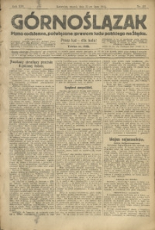Górnoślązak, 1913, R. 14, Nr. 167