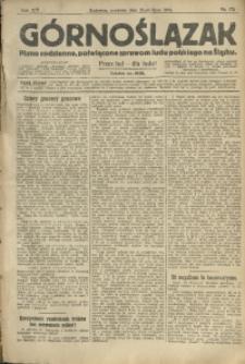 Górnoślązak, 1913, R. 14, Nr. 175