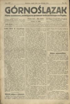 Górnoślązak, 1913, R. 14, Nr. 176