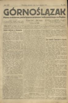 Górnoślązak, 1913, R. 14, Nr. 202