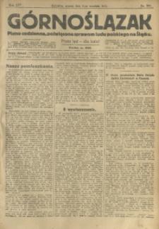 Górnoślązak, 1913, R. 14, Nr. 209