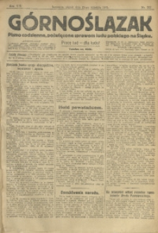 Górnoślązak, 1913, R. 14, Nr. 212