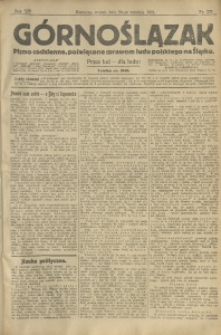 Górnoślązak, 1913, R. 14, Nr. 221