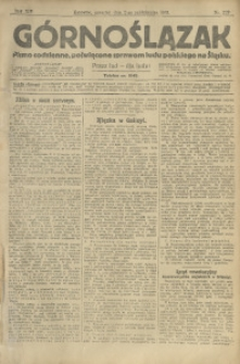 Górnoślązak, 1913, R. 14, Nr. 229