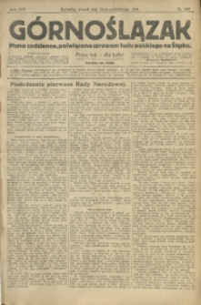 Górnoślązak, 1913, R. 14, Nr. 239