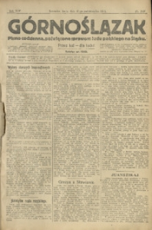 Górnoślązak, 1913, R. 14, Nr. 240