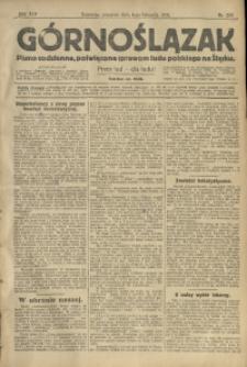 Górnoślązak, 1913, R. 14, Nr. 258