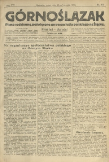 Górnoślązak, 1913, R. 14, Nr. 270