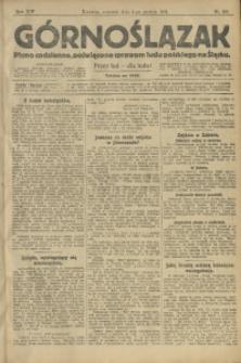Górnoślązak, 1913, R. 14, Nr. 281
