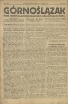 Górnoślązak, 1913, R. 14, Nr. 292