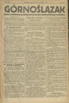 Górnoślązak, 1913, R. 14, Nr. 301