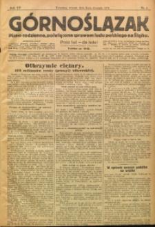 Górnoślązak, 1914, R. 15, Nr. 4