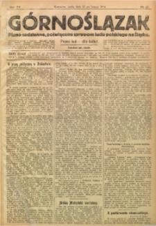 Górnoślązak, 1914, R. 15, Nr. 45