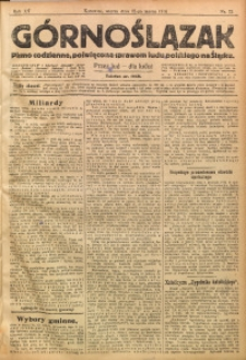 Górnoślązak, 1914, R. 15, Nr. 73