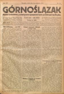 Górnoślązak, 1914, R. 15, Nr. 74