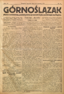 Górnoślązak, 1914, R. 15, Nr. 81