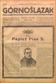 Górnoślązak, 1914, R. 15, Nr. 183