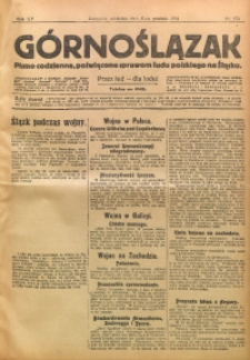 Górnoślązak, 1914, R. 15, Nr. 273
