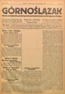 Górnoślązak, 1915, R. 16, Nr. 9