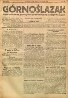 Górnoślązak, 1915, R. 16, Nr. 62