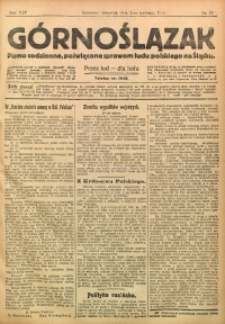 Górnoślązak, 1915, R. 16, Nr. 74
