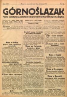 Górnoślązak, 1915, R. 16, Nr. 84